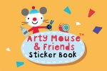 Arty Mouse & Friends: Sticker Book