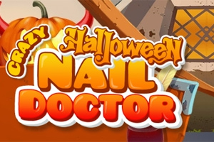 Crazy Halloween Nail Doctor