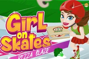 Girl on Skates: Pizza Blaze