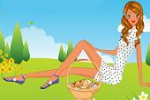 Picnic Girl Dress Up